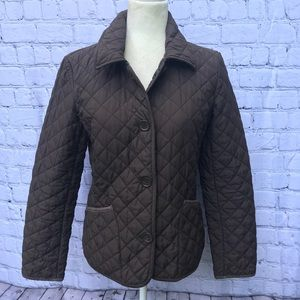 Tommy Hilfiger Brown Quilted Jacket
